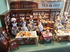 Lovely shop scenes from Jay's Miniatures