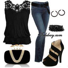 ❥ elegant classic black
