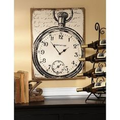 clock Wall canvas