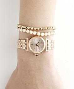 NIXON-WATCH(ニクソンウォッチ)のTHE SMALL TIME TELLER(腕時計)|ピンクゴールド