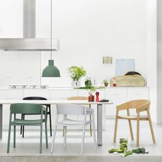 A collection of the best kitchen chairs online. Scandinavian kitchen chairs with plastic seats, solid wood kitchen chairs, retro kitchen chairs, and much more! Kitchen Chairs, Kitchen Dining, Dining Chairs, Dining Table, Wood Chairs, Dining Decor, Side Chairs, Dining Area, Kitchen Decor