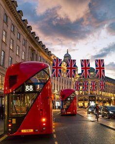 In Westminster, London. London Bus, London City, London Flag, London Transport, London Travel, Places To Travel, Places To See, Beautiful London, England Uk