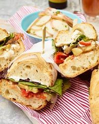 Ratatouille and Goat Cheese Subs  - Staff favorite with Food & Wine, so you know it's good...this looks amazing!