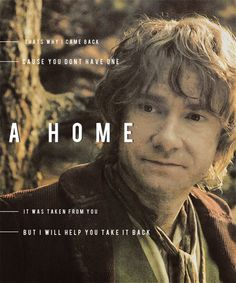 That's why I came back. Cause you don't have one. A home. It was taken from you. But I will help you take it back.