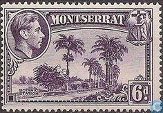 Stamps - Montserrat - King George VI-landscapes 1938