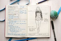 Sewing Craft Project Include a drawing of the finished project - Get inspired by these bullet journal tracker ideas for these amazingly creative layouts and collections will rock your bujo! Bullet Journal Knitting, Bullet Journal Books, Bullet Journal Layout, Bullet Journal Inspiration, Book Journal, Bullet Journal Project Planning, Bullet Journal Tracking, Project Planner, Bujo