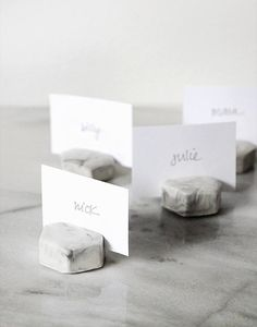 7 Creative DIY Place Card Holders for Your Next Party