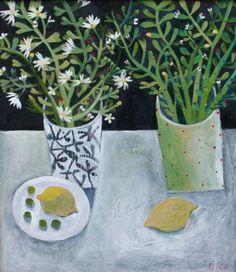 British Artist Este MacLEOD-Two Lemons