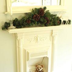 Christmas 3ft Pine Cone Garland