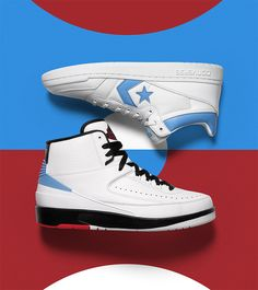 807ec330d02 Air Jordan x Converse Pack Jordan X, Michael Jordan, Converse, High Top  Sneakers
