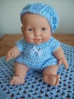 Crochet Doll Clothes Free Pattern Baby Dresses Tutorials 17 Ideas For 2019 Doll Patterns Free, Doll Clothes Patterns, Baby Patterns, Free Pattern, Crochet Patterns, Crochet Doll Dress, Crochet Doll Clothes, Crochet Toys, Small Baby Dolls