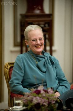 Queen Margrethe II holds press conference at Christian IX Palace