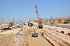 Sewer & Irrigation Trunk Main Works Connecting Jumeirah Park and Al Furjan.