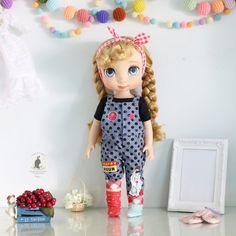 Doll clothes for Disney animator doll.