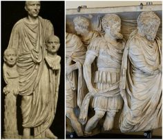 In ancient Rome during funerals, a person called an Archimime would walk behind the deceased and imitate the person as if they were still alive