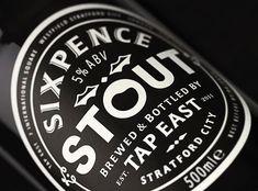 Sixpence Stout Bottle