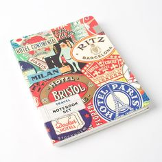 Travel Notebook (Set of 2) by Cavallini & Co. Price $13.95