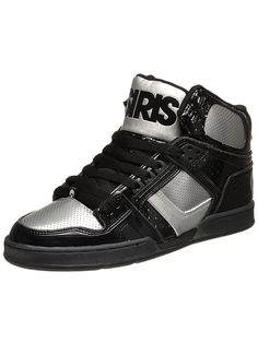 save off 44f6d 31ca8 black and grey Black High Tops, Black And Grey, Ultra Shoes, Osiris Shoes