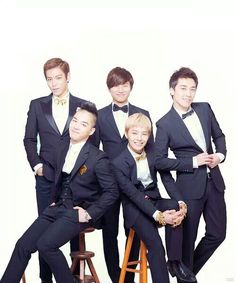 TOP, G-Dragon ,Daesung ,Seungri , and Taeyang ♡ #BIGBANG