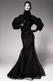 1940s Silhouettes Channeled at Zac Posen Pre-Fall 2014
