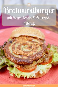 Bratwurst burger with onions and mustard ketchup - cinnamon & chili - Corrie Izzard Deep Fried Deviled Eggs, Avocado Deviled Eggs, Deviled Eggs Recipe, Burger Co, Pizza Burgers, Yummy Appetizers, Egg Recipes, Sausage Recipes, Grilling Recipes