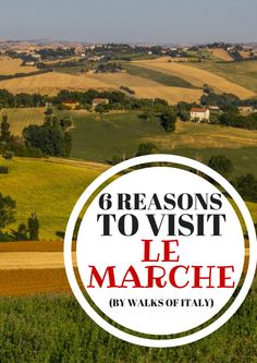 The unspoiled region of Le Marche located between the Adriatic coast and the Apennine Mountains boasts pristine beaches, charming towns and delicious local cuisine. Here are 6 things to love about Le Marche. Italy Tourism, Travel And Tourism, Italy Travel, Travel Tips, In Another Life, Beautiful Sites, Visit Italy, Sardinia, Amalfi Coast