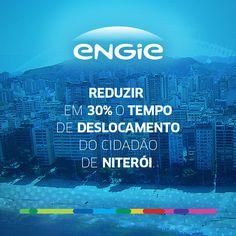 Melhorar a mobilidade urbana é um desafio. Por isso, a ENGIE desenvolveu a gestão inteligente do tráfego de Niterói, projeto inovador na América Latina. #ENGIE