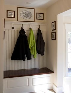 Traditional Entry beadboard Design Ideas, Pictures, Remodel and Decor