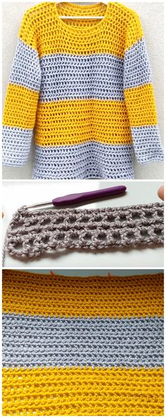 How To Crochet Stylish SweaterFree Crochet Sweater Patterns – Free Crochet PatternsCute and Easy Stylish Sweater & Cardigan…Stylish + Modern: Free Crochet Slippers Pattern for Women Moda Crochet, Crochet Yarn, Free Crochet, Knit Crochet, Crochet Slipper Pattern, Crochet Slippers, Crochet Designs, Crochet Ideas, Crochet Patterns For Beginners