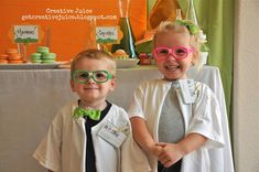 Best party ever- Creative Juice's Mad Scientist Party!