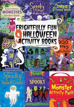 9 Frightfully Fun Halloween Activity Books