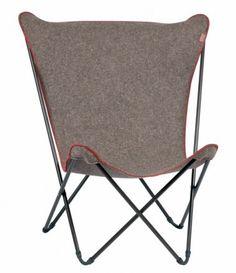 sièges en feutre, fauteuil Pop, Lafuma, ©lafuma