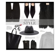 """Do it with style!"" by funkytalk ❤ liked on Polyvore featuring Karl Donoghue, Zara, CÉLINE, rag & bone, Brock Collection, Ted Baker, Anja, Burberry and modern"