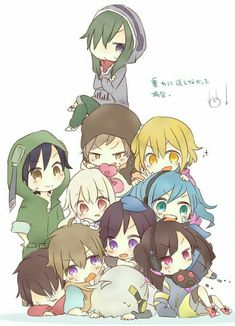 Find images and videos about anime, kawaii and kagerou project on We Heart It - the app to get lost in what you love. Anime Chibi, Manga Anime, Anime Art, Kawaii Chibi, Kagerou Project, Mekakucity Actors Konoha, Vocaloid, Anime Friendship, Chibi Sketch