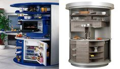 A kitchen… intelligent and well used | Polos Furniture
