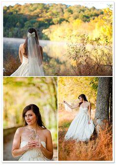 Bridal Portraits by Kristin Sweeting Photography | Borrowed & Bleu
