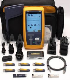 Fluke Networks OneTouch AT 1T-3000 Copper Fiber Wireless Network Tester Versiv | eBay