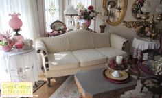 Cozy Cottage Slipcovers: my couch