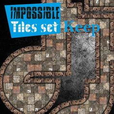 Impossible Tiles Set: Keep | Tile-able keep dungeon set for all possible combinations. Remember rotate, reflect, assemble all pieces with your imagination.  https://marketplace.roll20.net/browse/set/722/impossible-tiles-set-keep