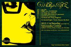 RAKUEN presents Whisky's High / 2012.01.12.Sat @ 桜坂セントラル