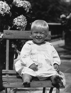 Prince Philip is a toddler in this photo from July 1922.