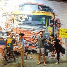 Street Art สถานที่ท่องเที่ยวแห่งใหม่ของหัวหิน , ประจวบคีรีขันธ์