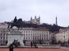 Place Bellecour. Lyon. Francia