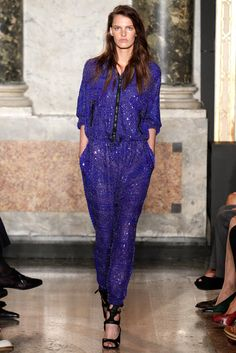 Emilio Pucci Spring 2014 Ready-to-Wear Fashion Show - Lisa Verberght