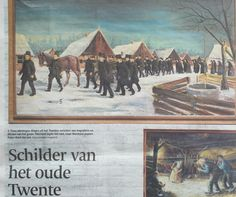 #VRIEZENVEEN Schilder van Twente  #BernardJaspersFaijer  #TcTubantia