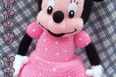 Minnie Mouse Amigurumi - Free Pattern