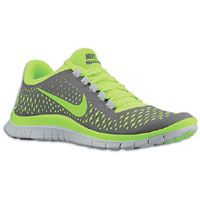 Nike Free Run 3.0 V4 - Men's - Grey / Light Green