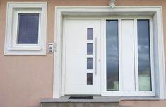 Glasschiebetüren für Terrasse - Wintergartenbauer Schmidinger Front Door Entrance, Sliding Glass Door, Windows, Doors, Gallery, House, Kitchen, Ideas, Exterior Houses