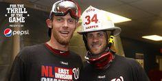 Stephen Strasburg and Bryce Harper