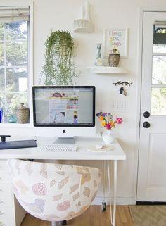 tiny work space
